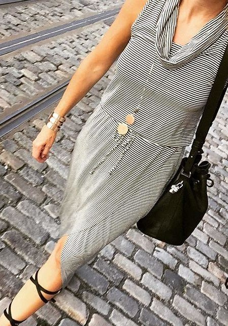 Cowlknit Midi Dress by Dolan Left Coast