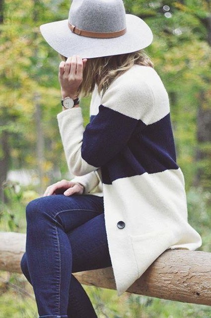Colorstripe Cardigan by La Fee Verte