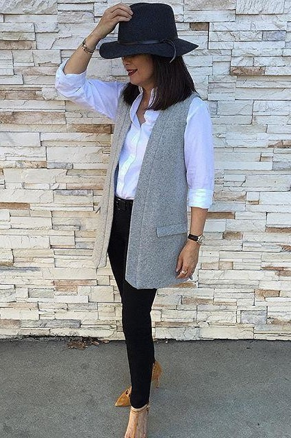 Easton Wool Vest by Elevenses