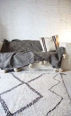 Anthropologie diamond rug