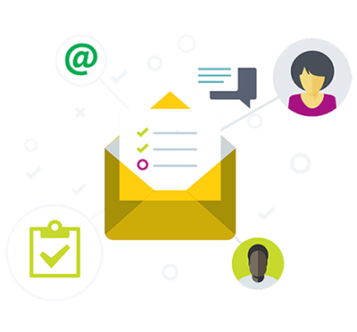 Email Management Iconagraphy