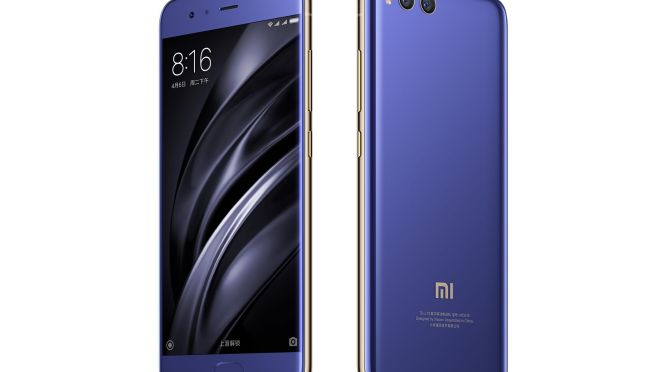 Xiaomi Mi 6 Price, Specifications And Features