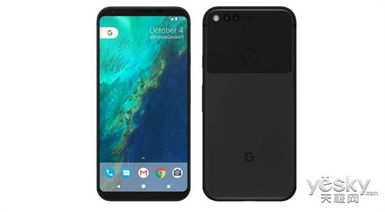 Google Pixel 2 Render Appears, Dual Rear Cameras