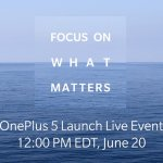 oneplus announces oneplus 5 launch date