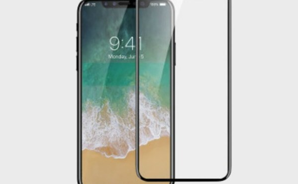 iPhone 8 Screenguard with edge-to-edge protection Listed on e-commerce