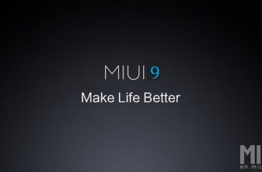 Xiaomi Mi 6 Will Get The First Taste Of MIUI 9