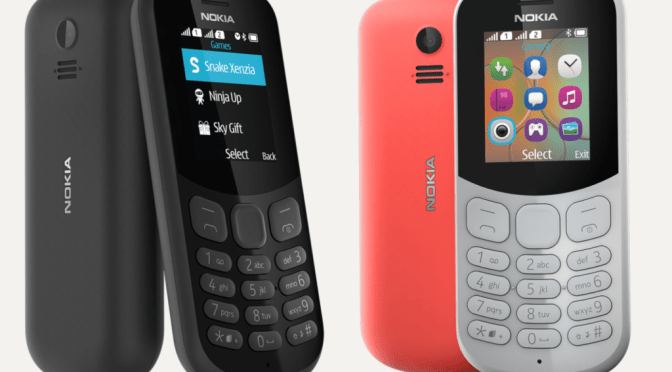 Nokia 105 & Nokia 130 New Feature Phones with Low Pricing Launched