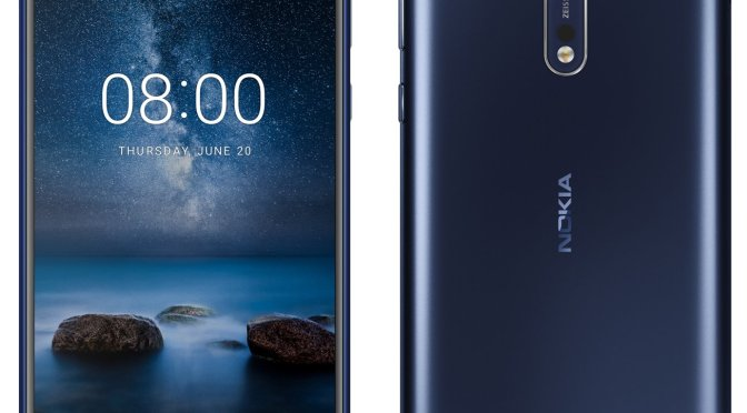 Nokia 8 Specifications, Color Variants and $634 Pricing Leaked