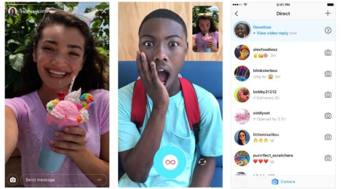 Instagram New Update Gets Photo and Video Replies