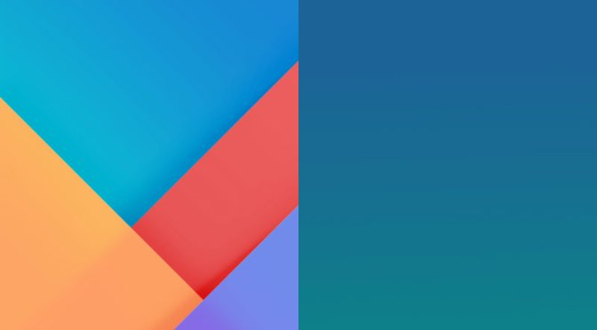 xiaomi releases two miui 9 wallpapers download