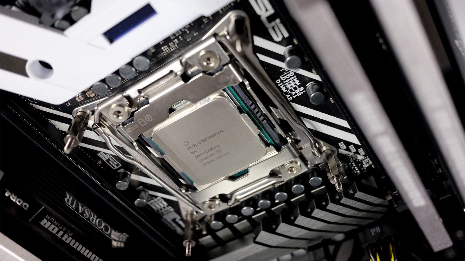 Intel Core i7 8086K Intel Anniversary Edition processor