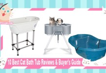 10 Best Cat Bath Tub Reviews and Buyers Guide