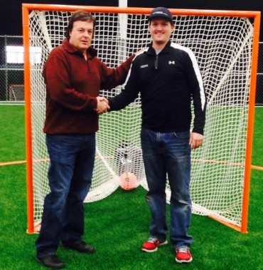 Duke's L.C. Founder/President Ebe Helm (left) and, Lacrosse Evolution Founder/Owner Tom Slate – both graduates of Springfield-Delco – have joined their travel programs to form a new division of the Duke's LC