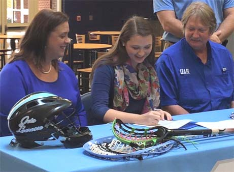 Mary Elizabeth Haddock signs with University of Alabama in Huntsville