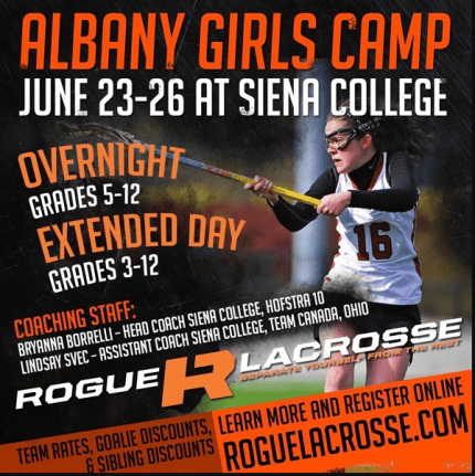 Rogue albany girls camp