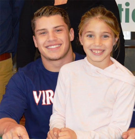 Corey signs to play with UVA.