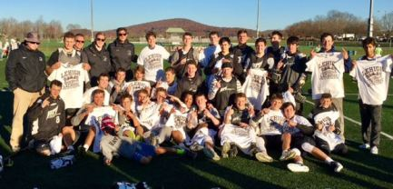 Providence Road (PA) wins the Brown Division title at the Lehigh Lacrosse King of the Mountain