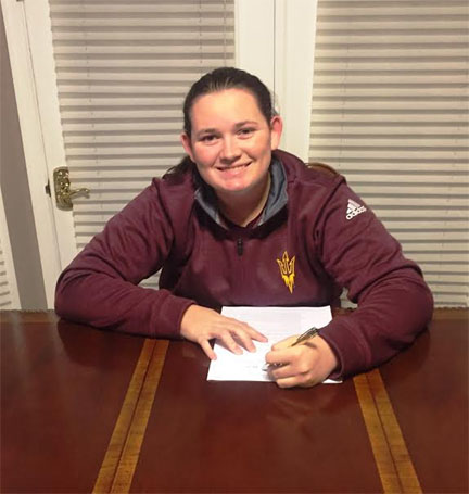 Sophia Thomas signing with ASU