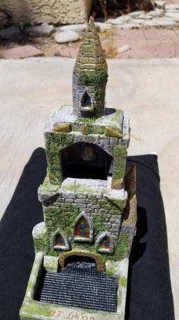 Church tower complete