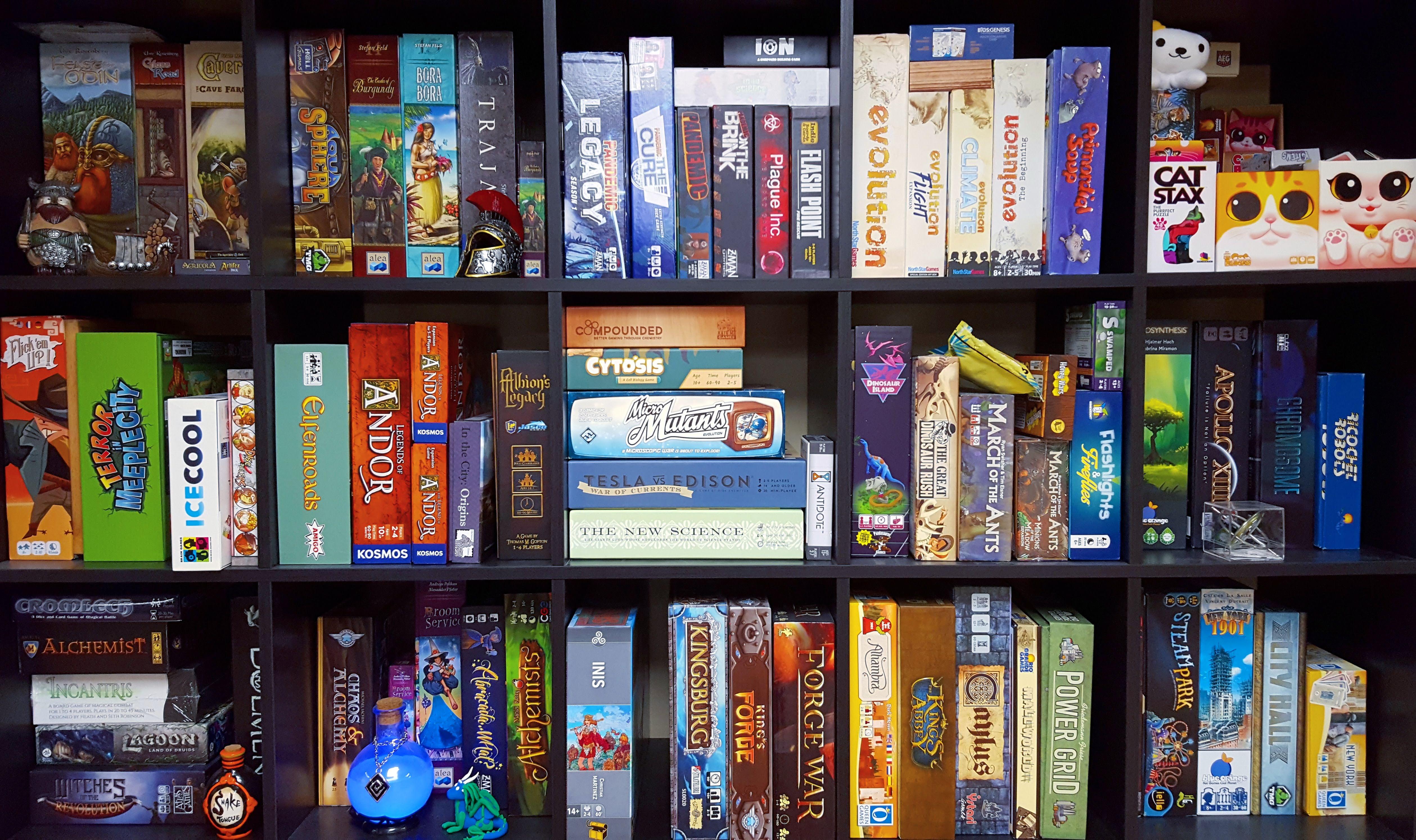 Kallax Game Shelf