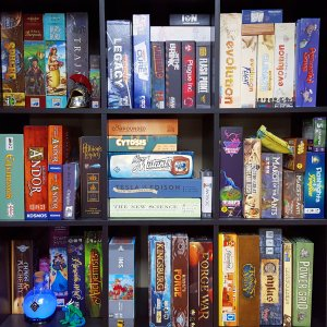 Kallax Game Shelf