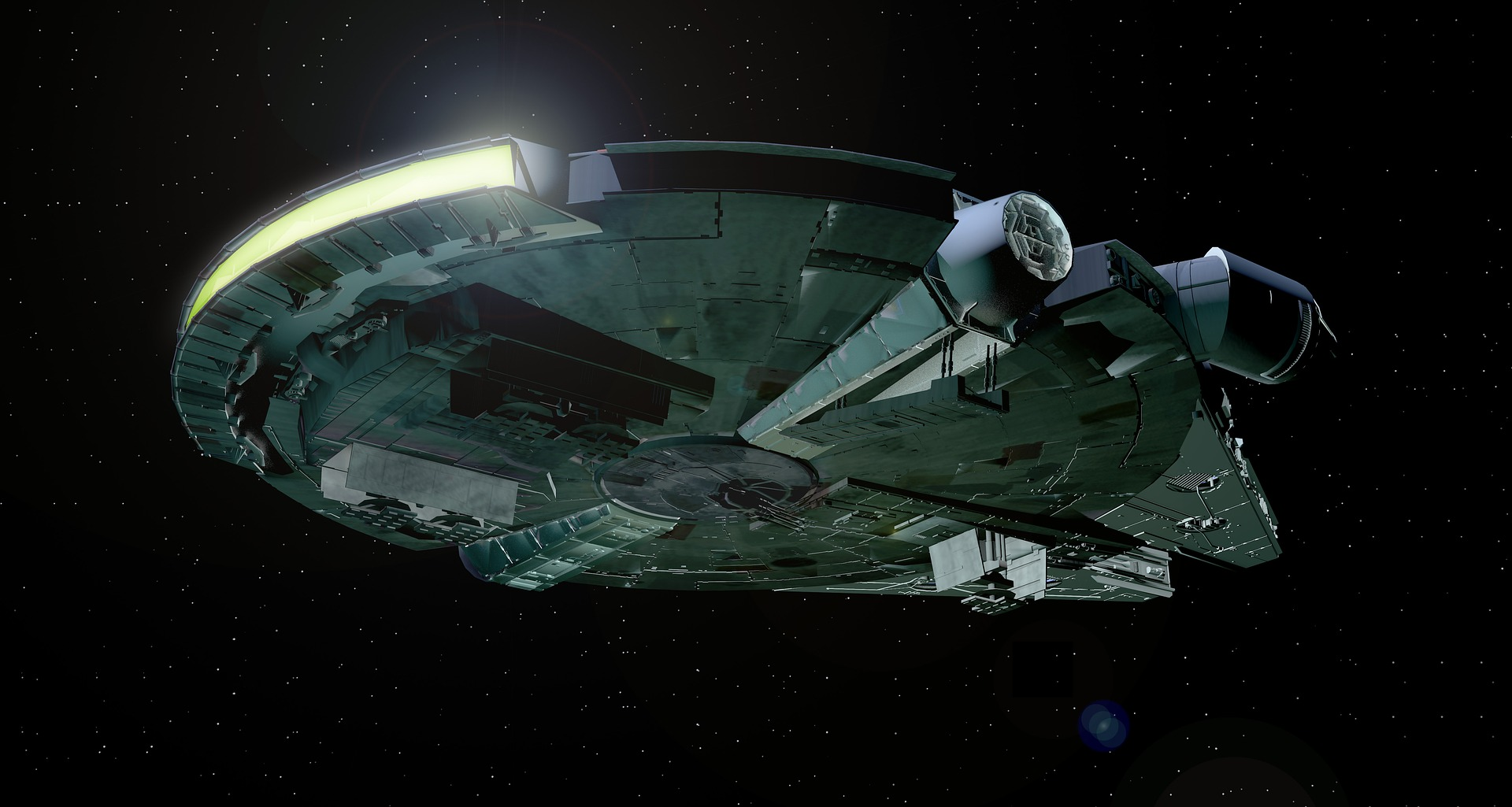 How star wars changed the film industry starship millennium falcon