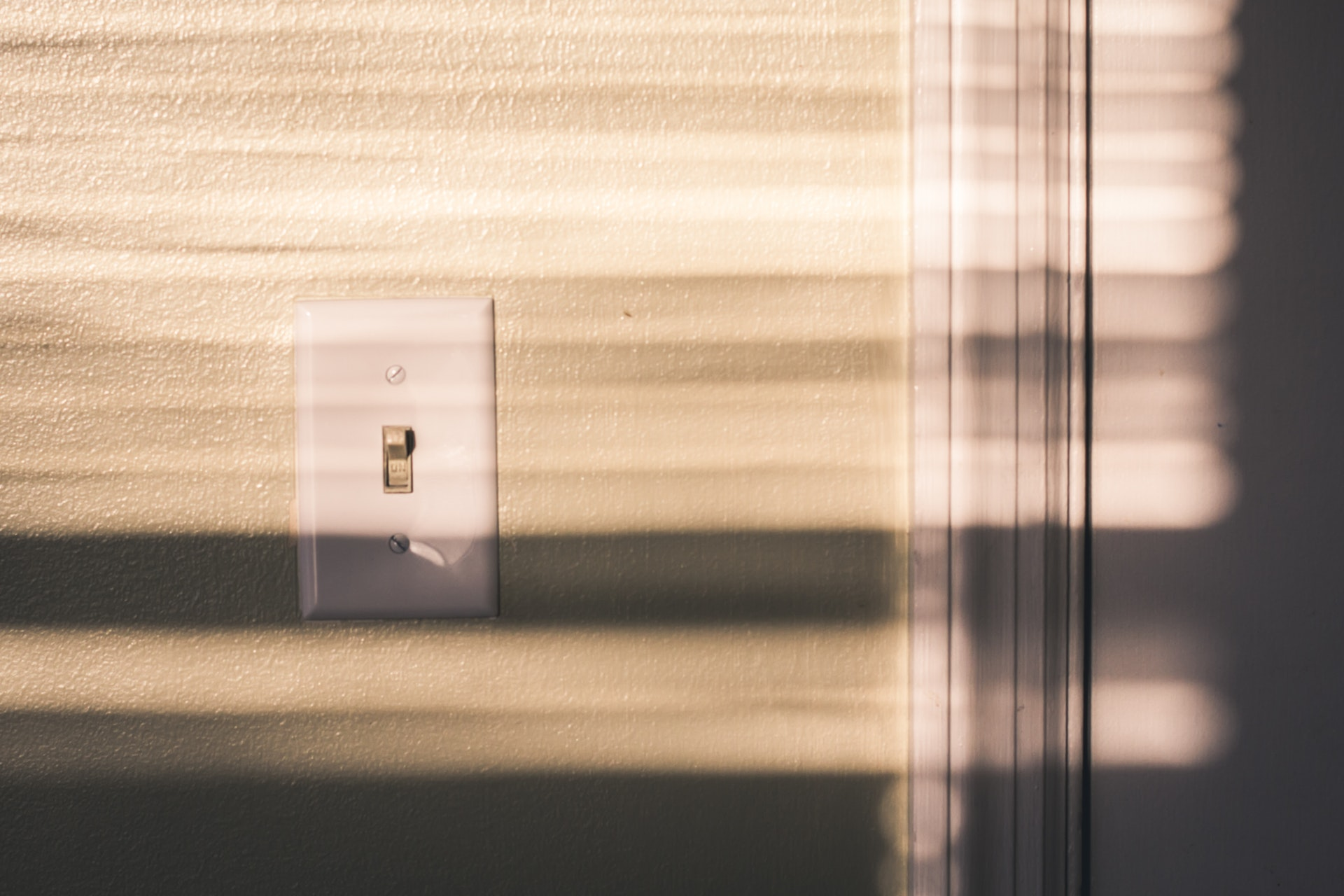 Turn light switches off as part of your sustainability policy.