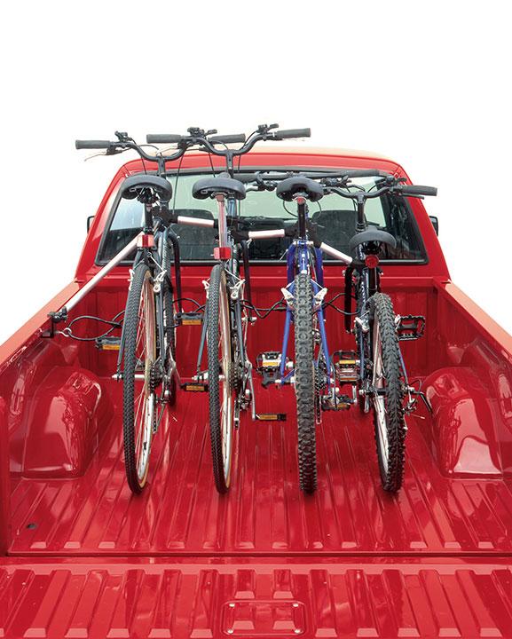 truck bed bike rack unigrip top line