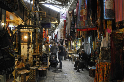 Shopping in Jerusalem