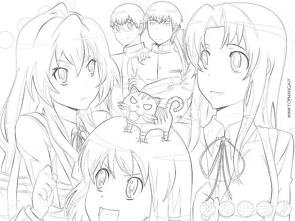 Free Coloring Pages Of Taiga Forest