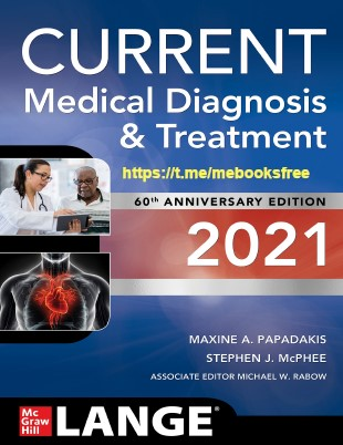 Cmdt 2021 pdf free download: Current Medical Diagnosis and Treatment