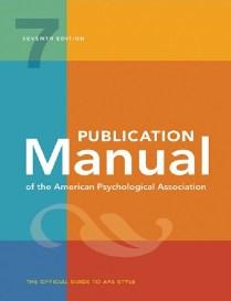 APA manual free