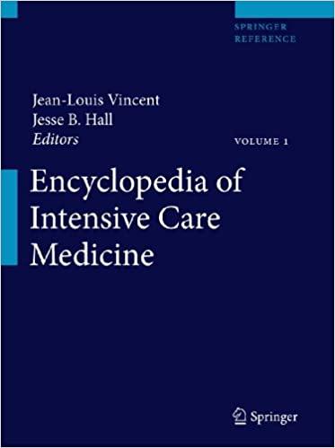 Encyclopedia of Intensive Care Medicine pdf free download