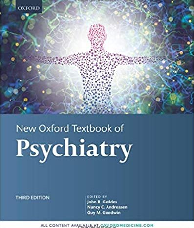 New Oxford Textbook of Psychiatry pdf 3rd edition