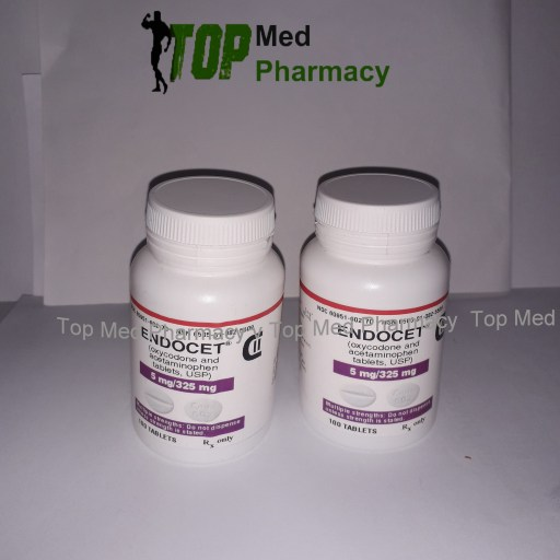 Endocet 5mg325mg (oxycodone and acetaminophen)