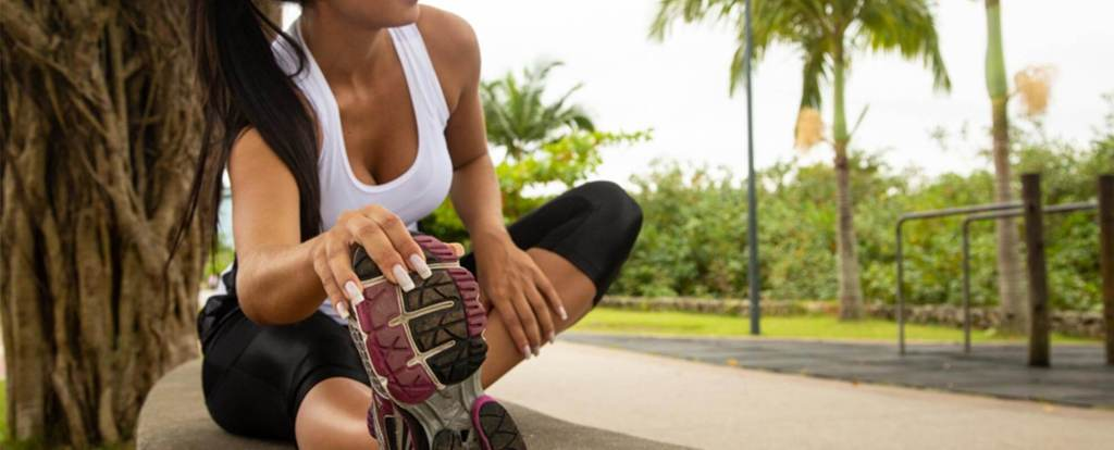 Como Começar a correr fazendo alongamentos