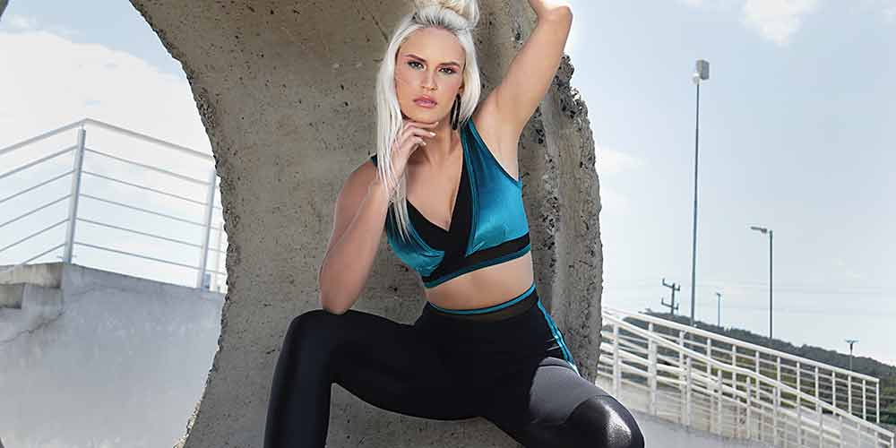 Moda com Fitness Legging de Emana e Cirre