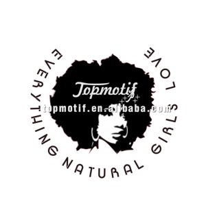 Natural afro girl t shirt printing heat transfer vinyl stickers
