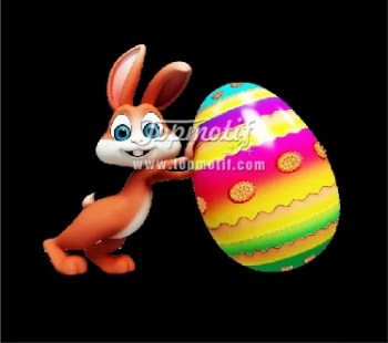 2018 new design Happy Easter heat transfer printing for clothing