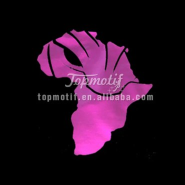 Pink Africa black panther glow in the dark craft vinyl t shirts