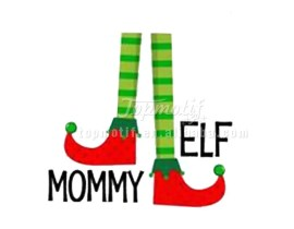 New Year Christmas Stockings vinyl heat transfer