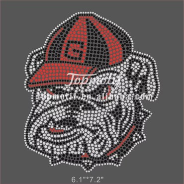 Bulldogs rhinestone transfers wholesale