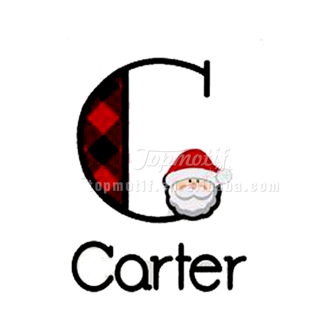 hotfix Carter vinyl transfer Christmas