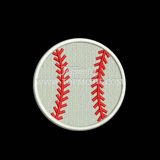 wholesale baseball embroidery heat transfer patches