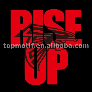 Falcons Rise Up Heat Transfer Vinyl For Clothing