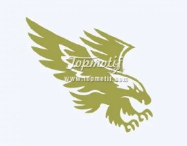 Eagles pattern for transfer paper for vinyl design