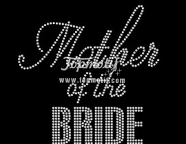 Mother Of The Bride Wholesale Iron On Transfer