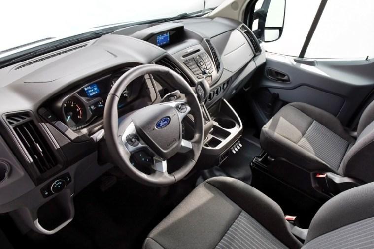 2017 Ford Transit Interior