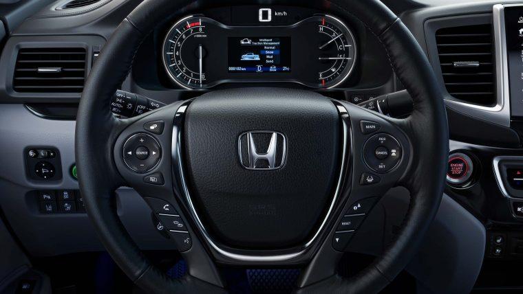 2017 Honda Ridgeline Interior