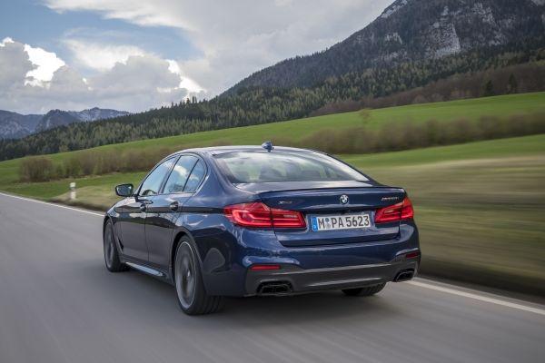 2018 BMW M550i Exterior